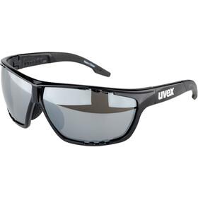 UVEX Sportstyle 706 Glasses black/silver